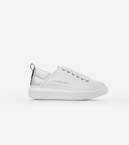 Women Sneakers Wembley - White-Mint/Nude