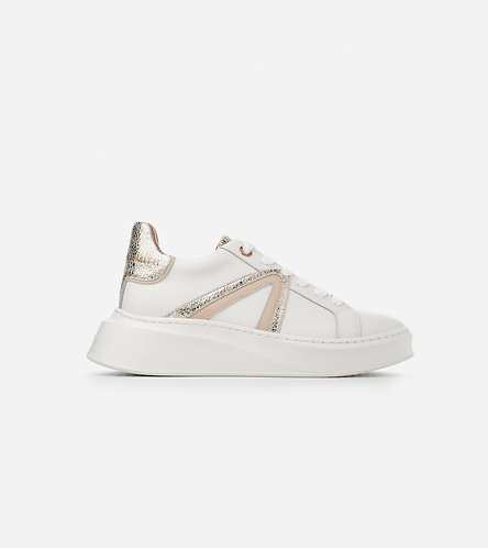 Women Sneaker Carnaby - White Gold