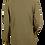 Thumbnail: Olive Green Pique Cotton Shirt