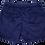 Thumbnail: Night Blue Corduroy Velvet Swimwear