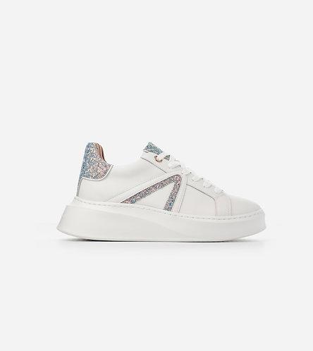 Women Sneakers Carnaby - White Peach Iride