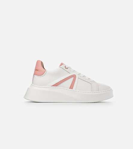 Women Sneaker Carnaby - White Peach