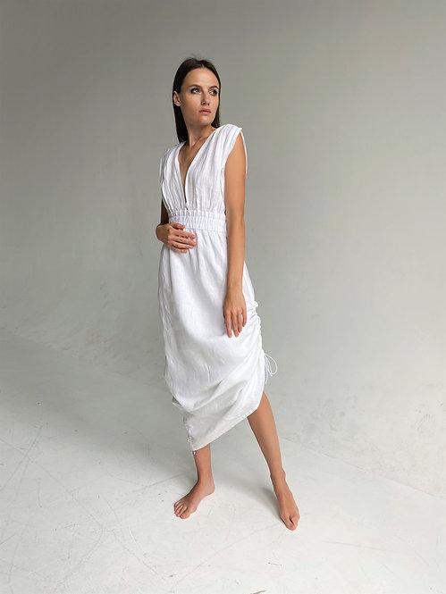 Linen Greek Style Dress