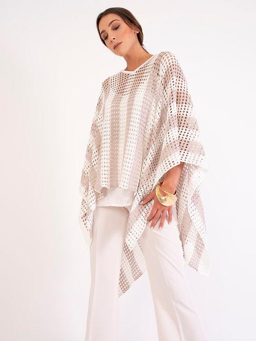 Cotton Poncho D2135
