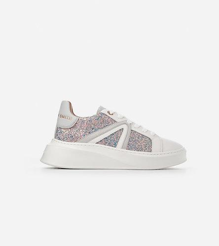 Women Sneakers Carnaby - Glitter Iride