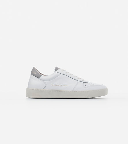 Men Sneakers Cambridge - White - Grey/Blue/Black