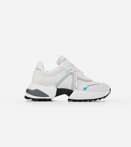 Women Sneakers Marble - White - Azure