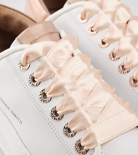 Women Sneakers Wembley - White-Azure/Grey/Rose