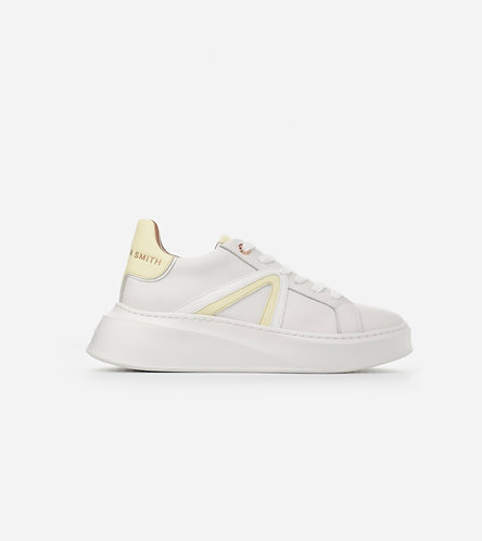 Women Sneakers Carnaby - White Yellow