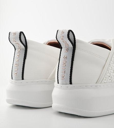 Women Sneakers Wembley - White - White/Silver