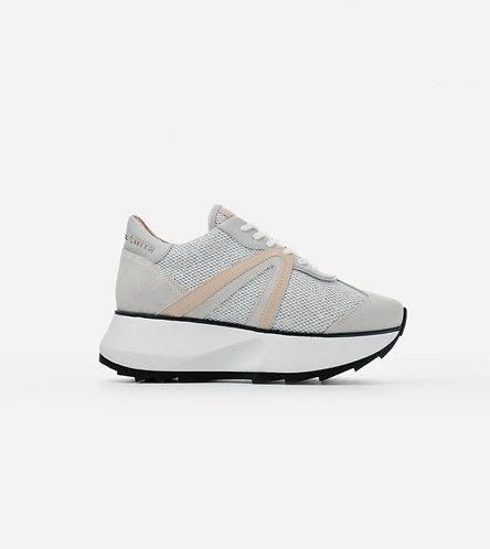 Women Sneakers Chelsea - Silver