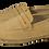 Thumbnail: Leather Beige Espadrilles Shoes