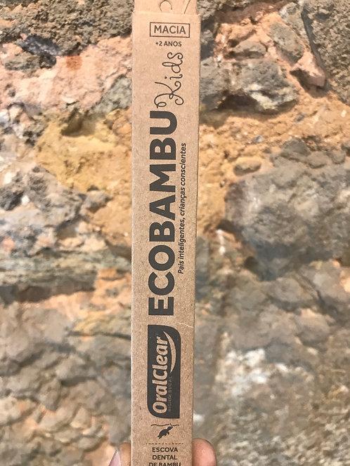 Escova de Dente Ecobambu  Infantil OralClear