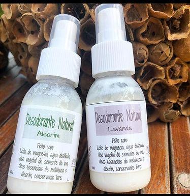 Desodorante Spray de Lavanda  Amoreira