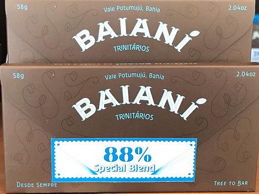 Chocolate 88% Trinitários Special Blend Baianí