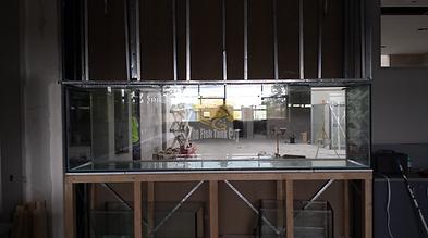 Building site fish tank