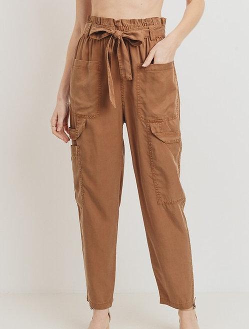 Tencel Utility Cargo Pants