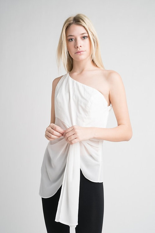 Jenn & Jo One Shoulder Top