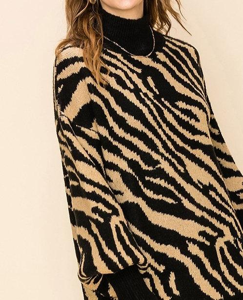 Sierra Zebra Sweater