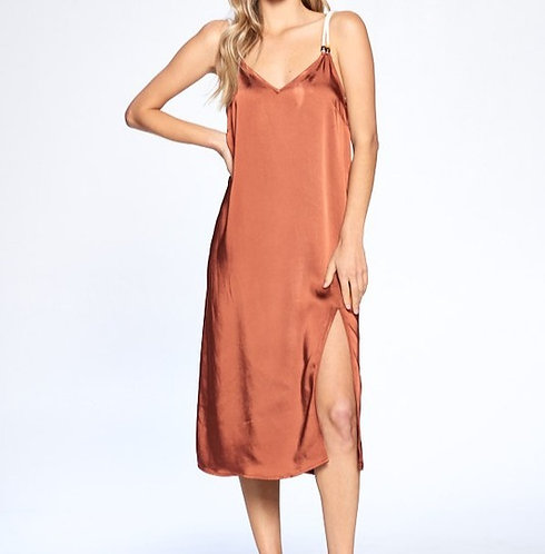 Whiskey Slip Dress