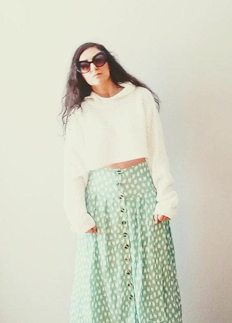 Midi spring skirt