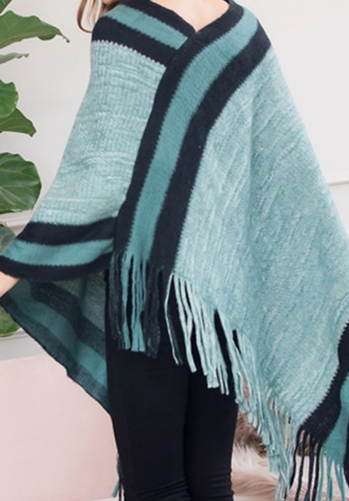 Cozy Couture Poncho