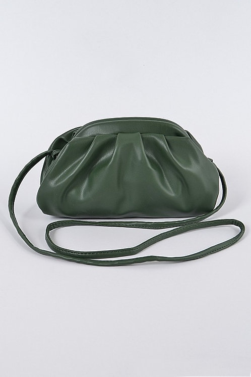 Olive Pouch Bag