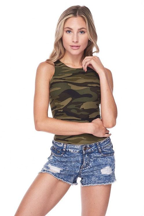 Camo Tank Bodysuit