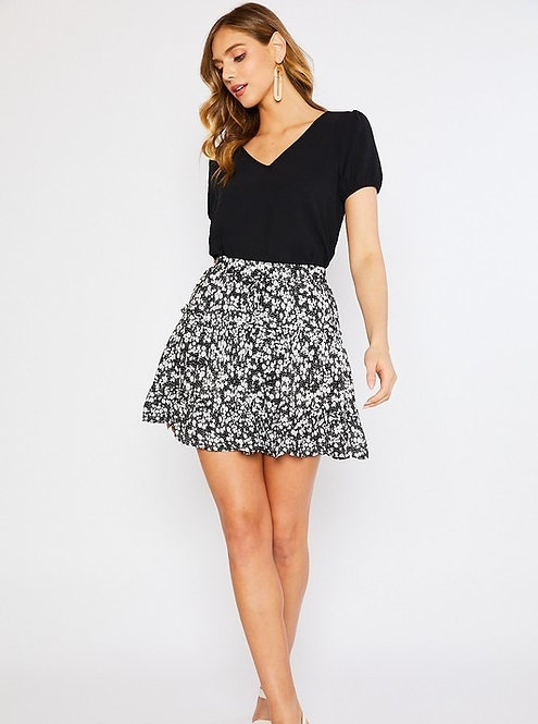 Lazy Daisy Black Mini