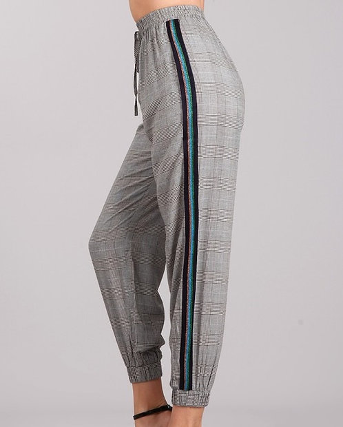 Pi Plaid Jogger