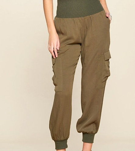 Relaxed Utility Cargo Pants