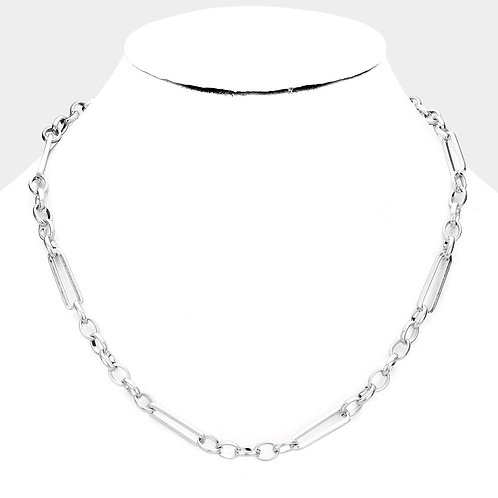 Chain Metal Link Necklace