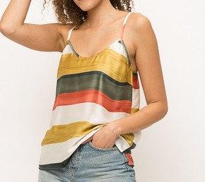 Sedona Sunset Striped Cami