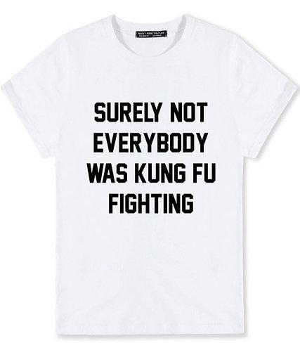 Everybody was Kung Fu Fighting