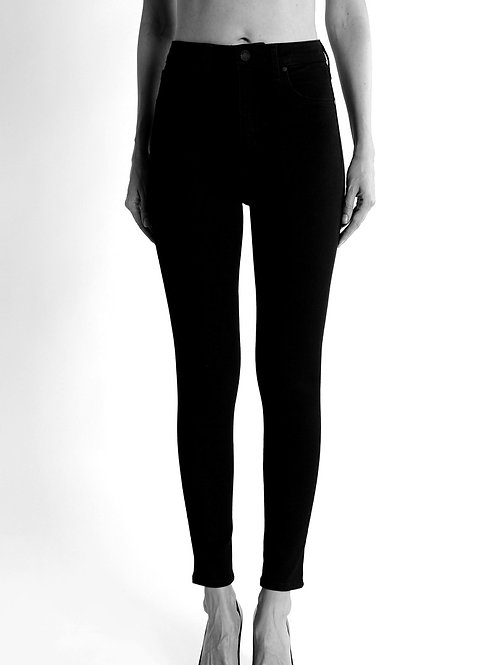 JBD BP1062 Black High-rise Ankle Skinny