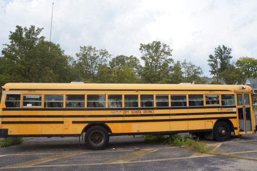 So, here's what happens when you visit an old, abandoned bus...