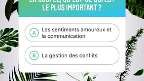 Amour, communication et gestion des conflits...What else ?