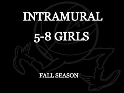 Fall Intramural 5-8 Grade Girls
