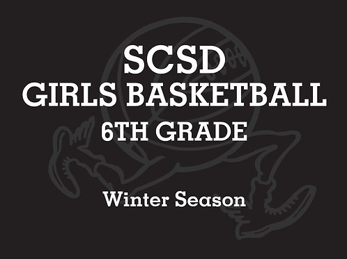 SCSD Girls Basketball 6th B TEAM