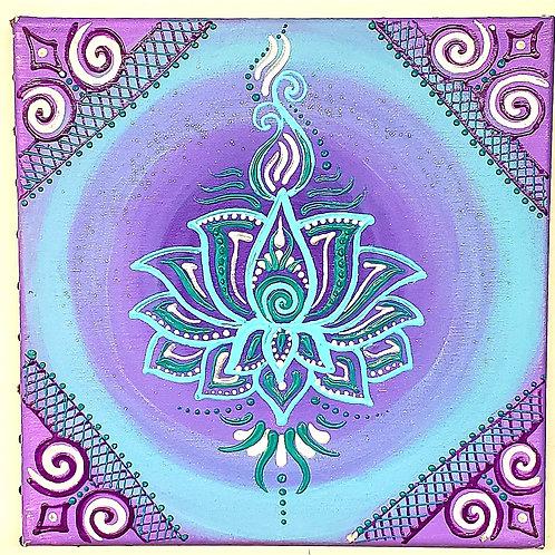 Bluepurple Lotus