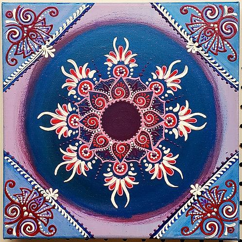 Mandala series pink 100