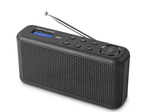 MUSE M-102 DB RADIO DIGITALE DAB+ FM RDS SVEGLIA PILE/CORRENTE