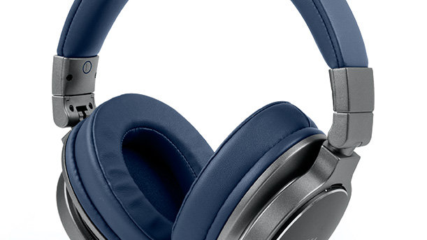 MUSE M-278 BTB Cuffie Bluetooth Over-Ear utilizzabili con cavo o Wireless