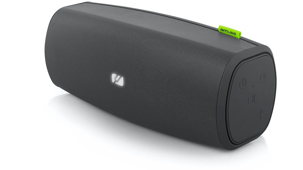 MUSE M-905 AP Altoparlante Stereo Bluetooth NFC 30W Impermeabile IPX4