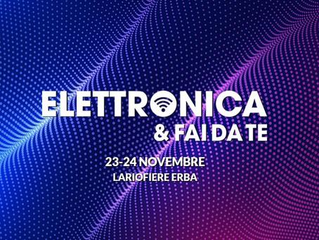 Non mancate alla Fiera Elettronica di Erba 2019!