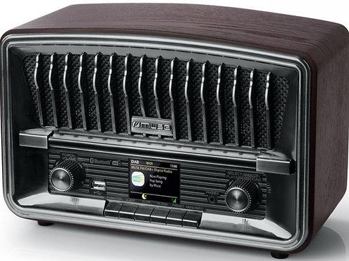 MUSE M-135 DBT RADIO DAB+/FM RDS VINTAGE BLUETOOTH NFC STEREO USB