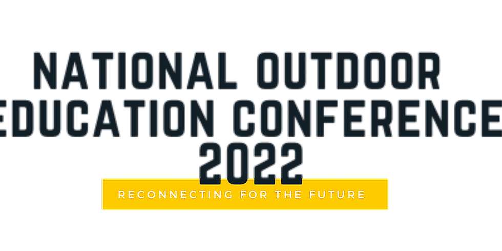 National Outdoor Education Conference 2022