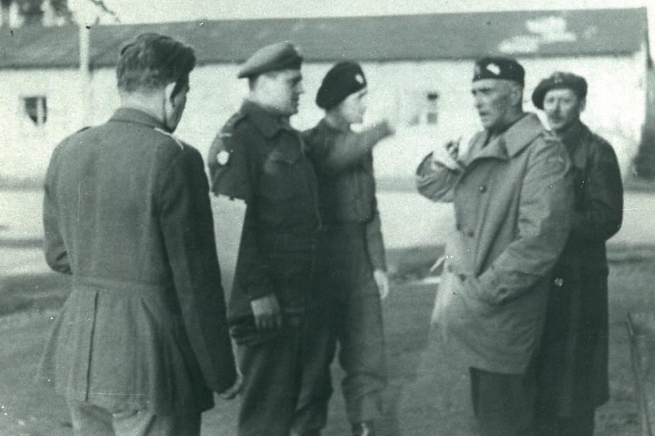 Wincenty Gawron i Jonny Lechenich w II Korpusie Polskim we Włoszech, Fot. Archiwum Państwowego Muzeum Auschwitz-Birkenau