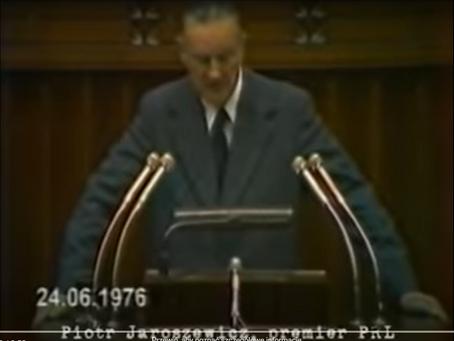 Przyczyna protestów z Czerwca '76