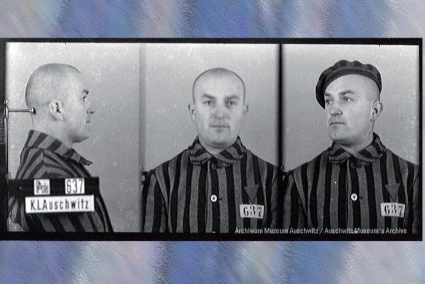 Fryderyk Klytta więzień nr. 637, Fot.Archiwum Państwowego Muzeum Auschwitz-Birkenau